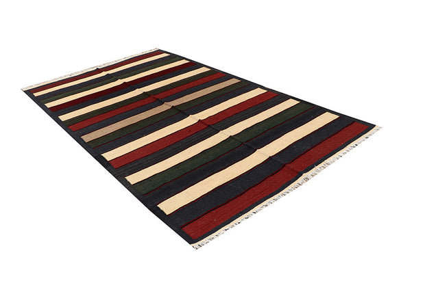 Multi Colored Kilim 4' 11 x 8' - No. 66867 - ALRUG Rug Store