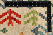 Multi Colored Kilim 5' 6 x 8' - No. 66890 - ALRUG Rug Store