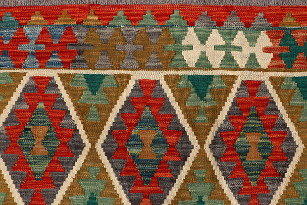 Multi Colored Kilim 6' x 8' - No. 66894 - ALRUG Rug Store