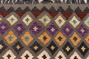 Multi Colored Kilim 6' 5 x 9' 10 - No. 66922 - ALRUG Rug Store