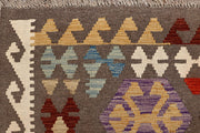 Multi Colored Kilim 6' 5 x 9' 9 - No. 66935 - ALRUG Rug Store