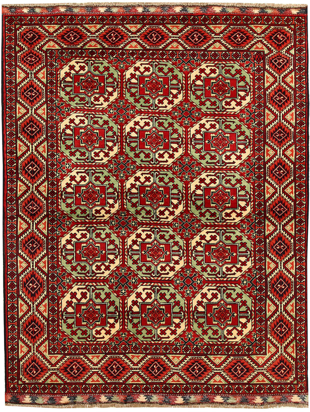 Multi Colored Khal Mohammadi 4' 10 x 6' 4 - No. 67059 - ALRUG Rug Store