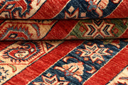 Multi Colored Kazak 4' 10 x 6' 4 - No. 67250 - ALRUG Rug Store