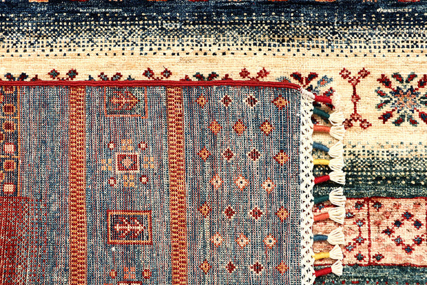 Multi Colored Kazak 5' 1 x 6' 9 - No. 67253 - ALRUG Rug Store