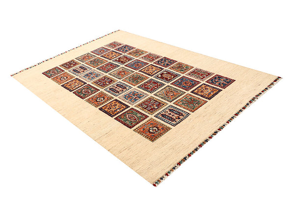 Multi Colored Kazak 4' 11 x 7' 5 - No. 67254 - ALRUG Rug Store