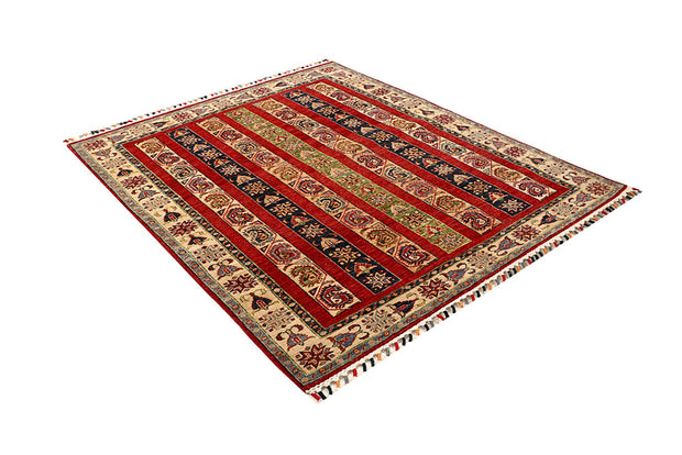 Multi Colored Kazak 4' 10 x 5' 8 - No. 67256 - ALRUG Rug Store