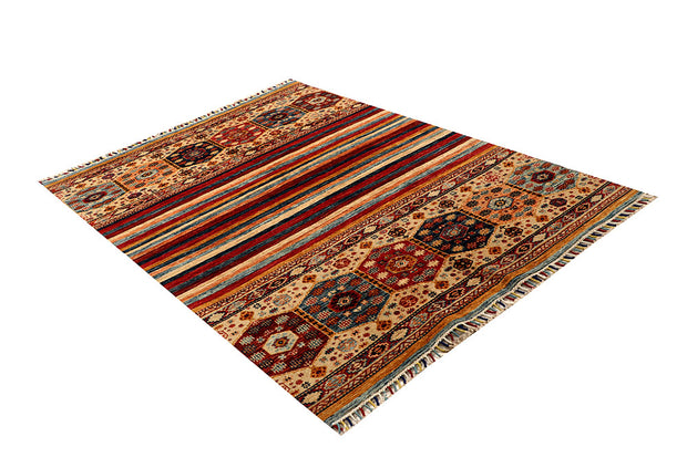 Multi Colored Kazak 4' 11 x 6' 9 - No. 67259 - ALRUG Rug Store