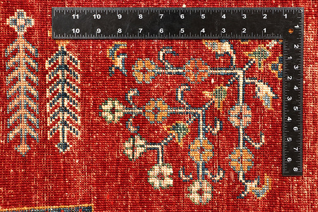 Multi Colored Kazak 4' 10 x 6' 11 - No. 67260 - ALRUG Rug Store