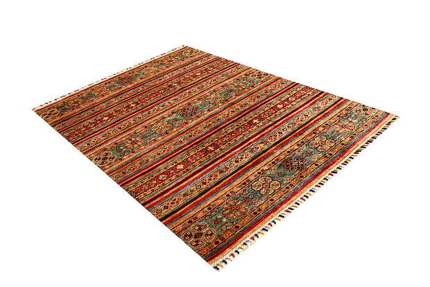Multi Colored Kazak 4' 10 x 6' 6 - No. 67262 - ALRUG Rug Store