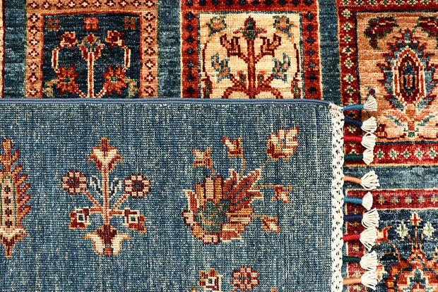 Multi Colored Kazak 4' 10 x 6' 8 - No. 67267 - ALRUG Rug Store