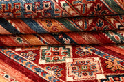 Multi Colored Kazak 5' 7 x 8' - No. 67275 - ALRUG Rug Store