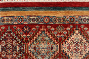 Multi Colored Kazak 5' 9 x 8' - No. 67280 - ALRUG Rug Store
