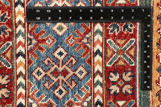 Multi Colored Kazak 5' 7 x 8' 1 - No. 67283 - ALRUG Rug Store
