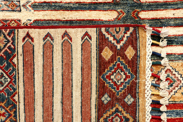 Multi Colored Kazak 5' 5 x 8' - No. 67294 - ALRUG Rug Store