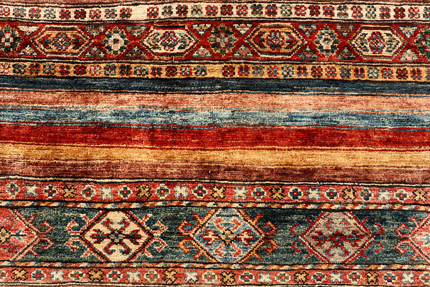 Multi Colored Kazak 5' 6 x 8' - No. 67301 - ALRUG Rug Store