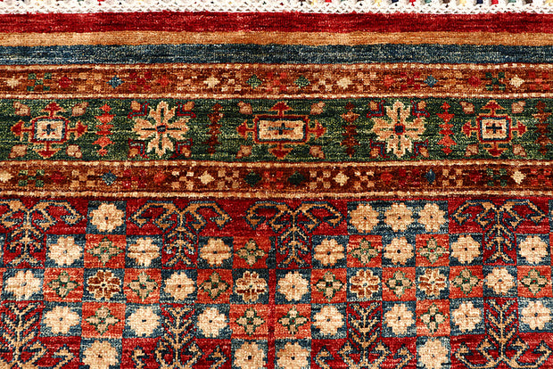 Multi Colored Kazak 5' 6 x 8' 2 - No. 67308 - ALRUG Rug Store