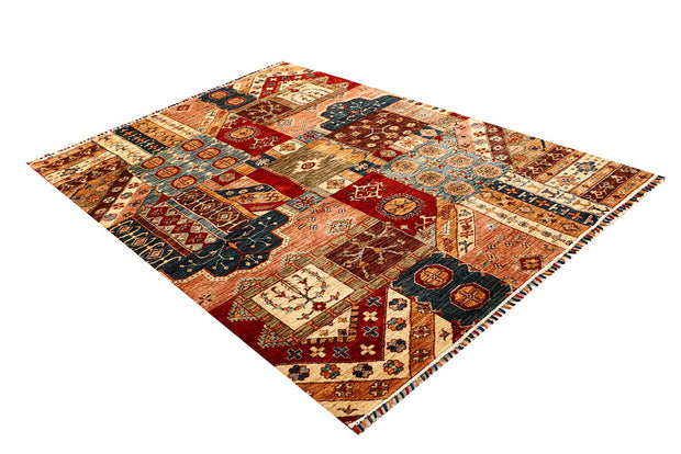 Multi Colored Kazak 5' 7 x 7' 10 - No. 67311 - ALRUG Rug Store