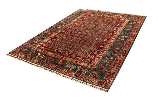 Multi Colored Kazak 5' 10 x 7' 10 - No. 67312