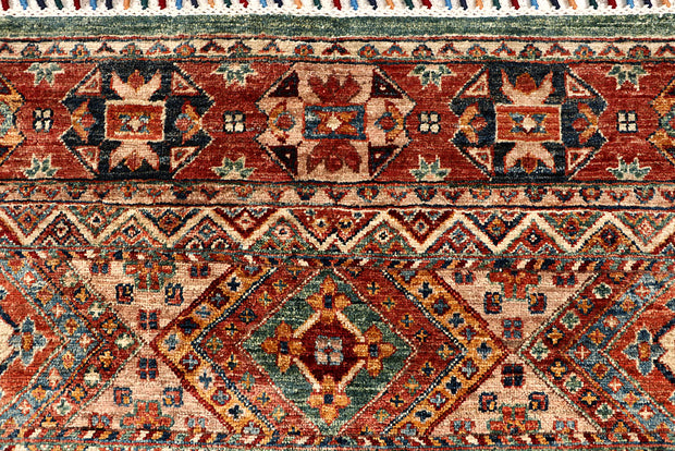 Multi Colored Kazak 5' 5 x 8' 8 - No. 67319
