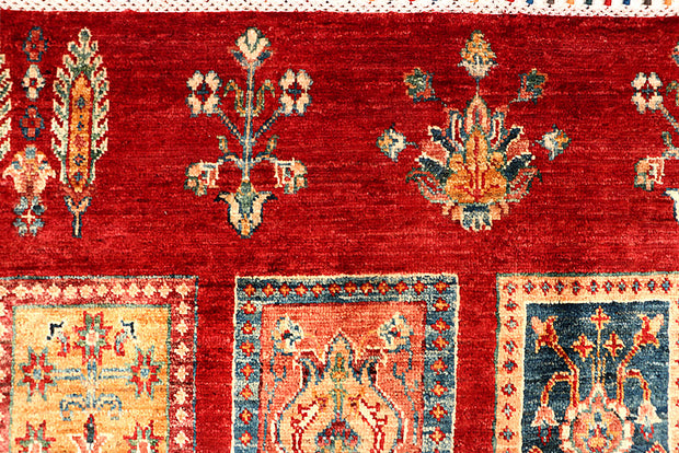 Multi Colored Kazak 6' 11 x 10' - No. 67320 - ALRUG Rug Store