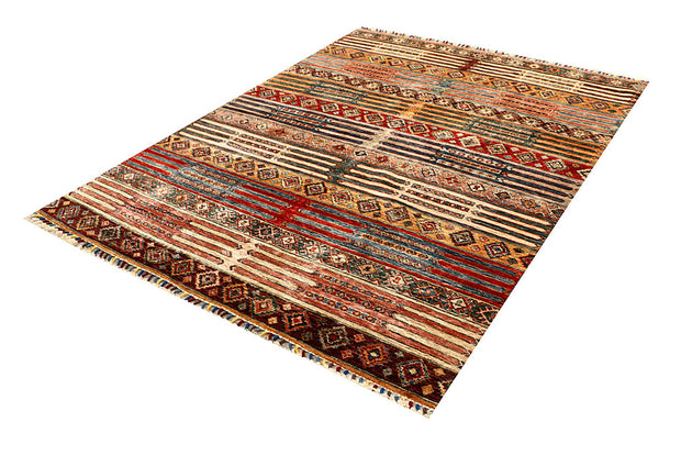 Multi Colored Kazak 5' 7 x 7' 5 - No. 67321