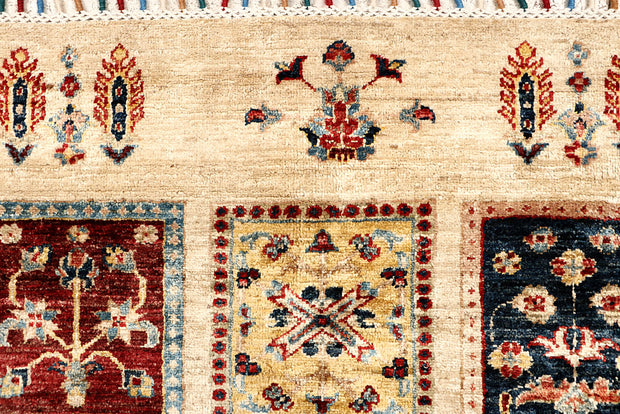 Multi Colored Kazak 5' 8 x 8' 3 - No. 67322 - ALRUG Rug Store