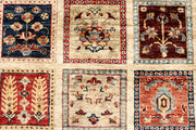 Multi Colored Kazak 5' 8 x 8' 3 - No. 67322