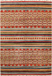 Multi Colored Kazak 6' 9 x 9' 5 - No. 67323