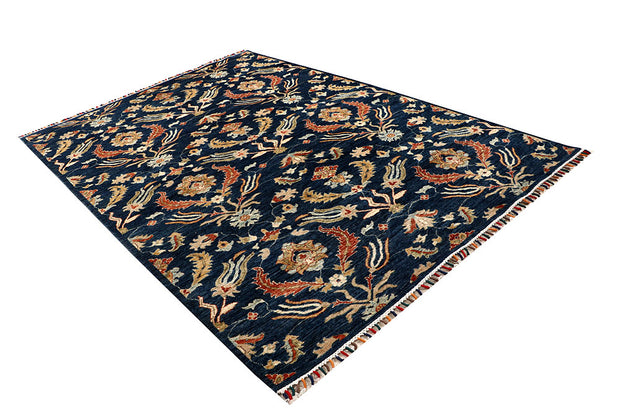 Multi Colored Kazak 6' 2 x 8' 8 - No. 67326 - ALRUG Rug Store