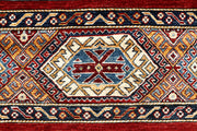 Multi Colored Kazak 5' 7 x 7' 9 - No. 67332 - ALRUG Rug Store