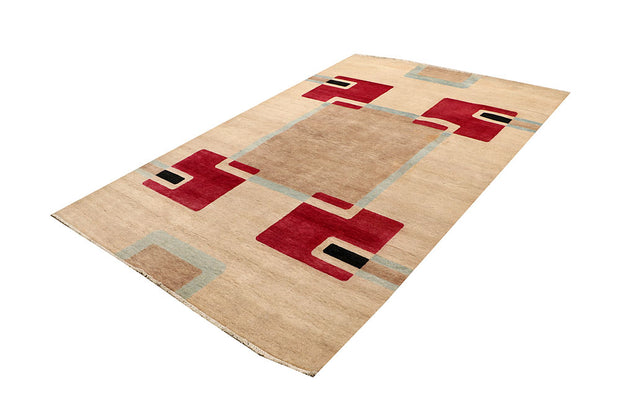 Multi Colored Gabbeh 5' 5 x 8' 4 - No. 67342 - ALRUG Rug Store