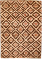 Multi Colored Gabbeh 5' 7 x 7' 9 - No. 67343 - ALRUG Rug Store