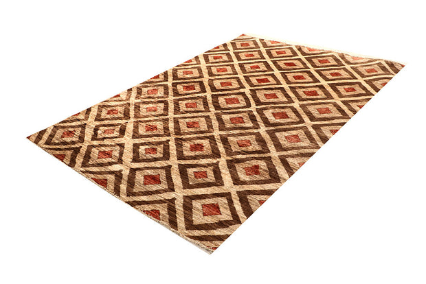 Multi Colored Gabbeh 5' 4 x 7' 6 - No. 67345 - ALRUG Rug Store