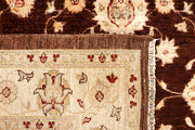Saddle Brown Oushak 5' 7 x 8' - No. 67357 - ALRUG Rug Store