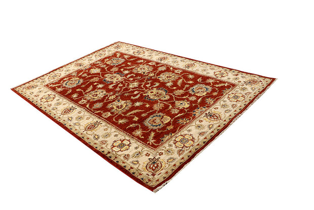 Brown Oushak 5' 6 x 7' 8 - No. 67361 - Alrug Rug Store