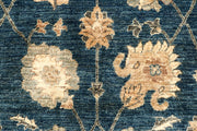 Steel Blue Oushak 4' 3 x 16' 6 - No. 67365 - ALRUG Rug Store
