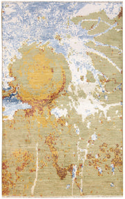 Multi Colored Abstract 3' 11 x 6' 5 - No. 67367 - ALRUG Rug Store