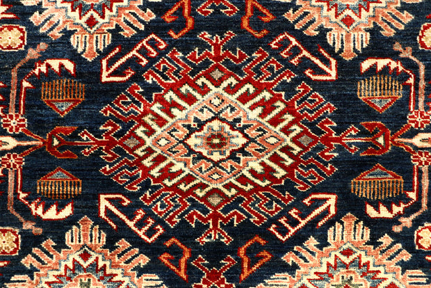 Dark Blue Kazak 4' 11 x 6' 8 - No. 67369