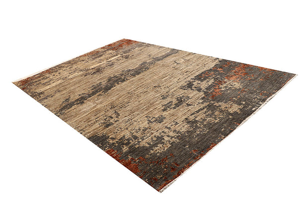 Multi Colored Abstract 6' 6 x 9' 7 - No. 67401 - ALRUG Rug Store