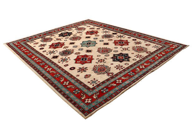 Blanched Almond Kazak 8' 3 x 9' 9 - No. 67461 - ALRUG Rug Store