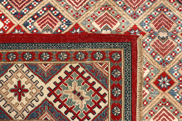 Multi Colored Kazak 8' 2 x 11' - No. 67466 - ALRUG Rug Store