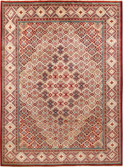 Multi Colored Kazak 8' 2 x 11' - No. 67466