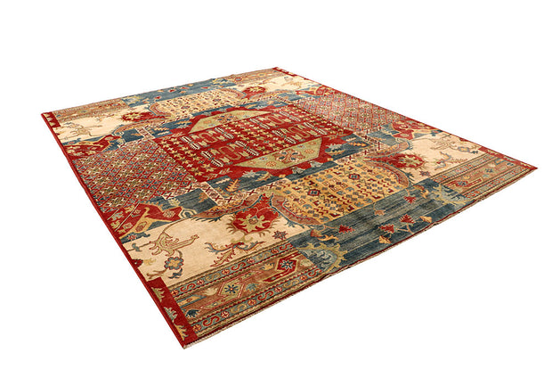 Multi Colored Kazak 8' 1 x 9' 10 - No. 67467 - ALRUG Rug Store