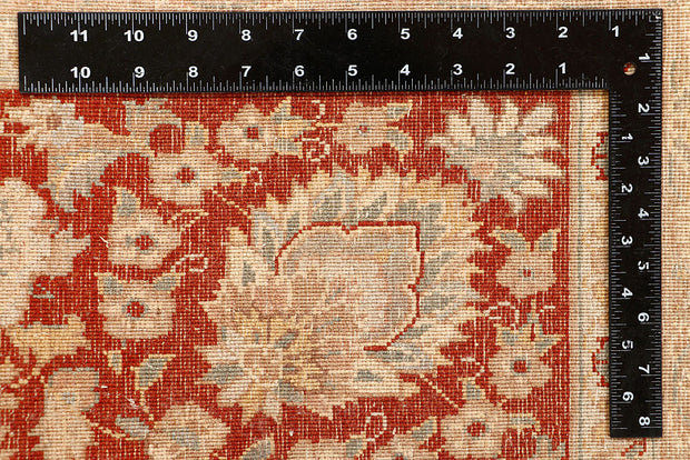 Blanched Almond Sultanabad 8' 11 x 12' - No. 67520 - Alrug Rug Store