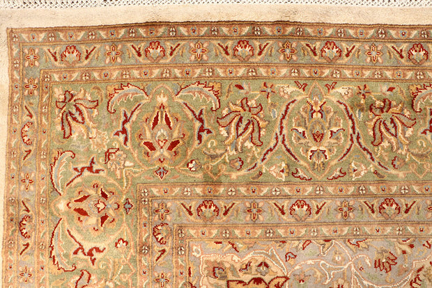 Blanched Almond Kashan 8' 10 x 12' 1 - No. 67526 - ALRUG Rug Store