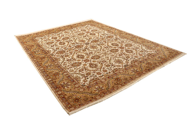 Ivory Sultanabad 8' 1 x 10' 3 - No. 67536 - Alrug Rug Store