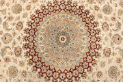 Blanched Almond Isfahan 7' 11 x 10' 9 - No. 67547 - ALRUG Rug Store