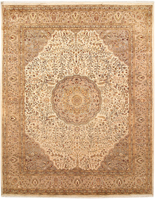 Blanched Almond Tree of Life 8' x 10' 1 - No. 67550 - ALRUG Rug Store