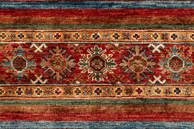 Multi Colored Kazak 4' 9 x 6' 9 - No. 67578
