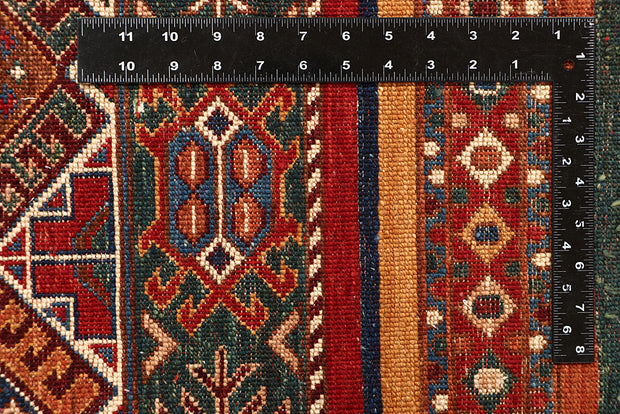 Multi Colored Kazak 4' 11 x 6' 7 - No. 67579